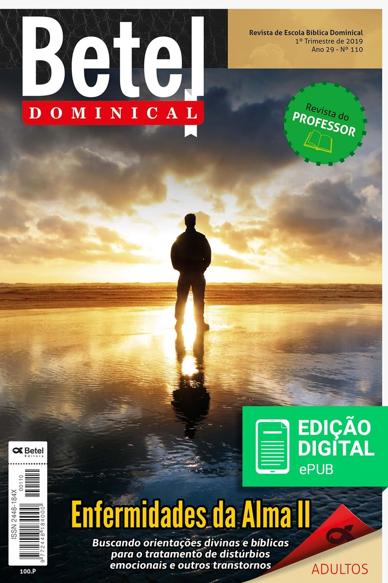 Betel Dominical - 2019 / 1º Trimestre - Professor (Digital)